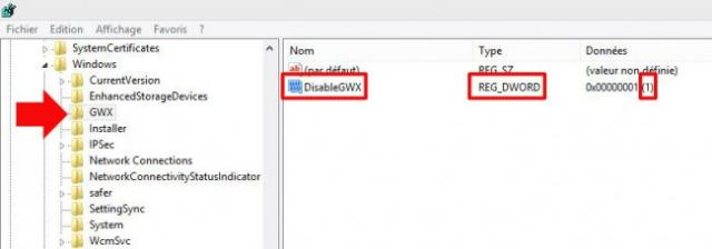 annuler la mise a jour windows 10 8