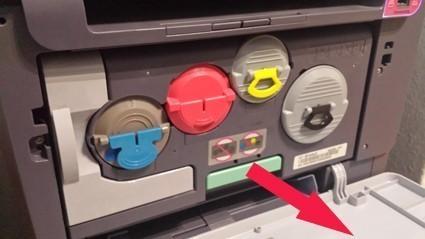 bourrage papier sur imprimante clx 2160 1