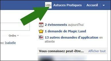 cacher activite recente facebook 0