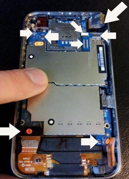 changer batterie iphone 3gs 4