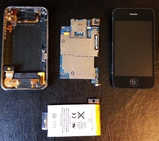 changer batterie iphone 3gs 7