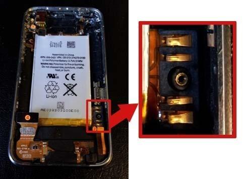 changer batterie iphone 3gs 9