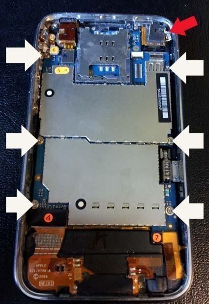 changer batterie iphone 3gs 10