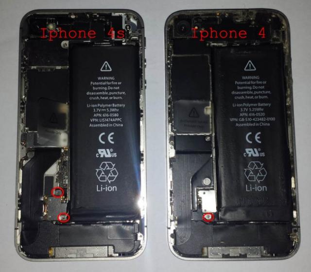 changer batterie iphone 4s 3