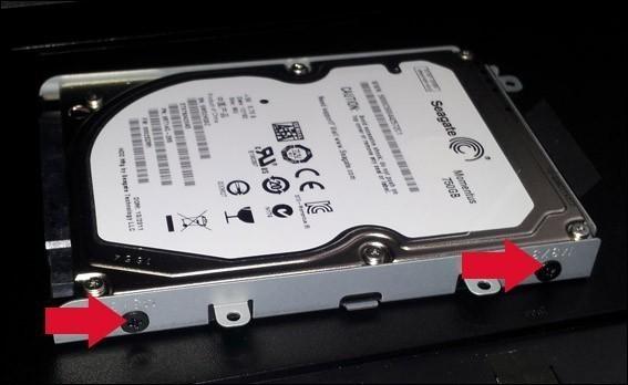changer disque dur sur asus n53s 4