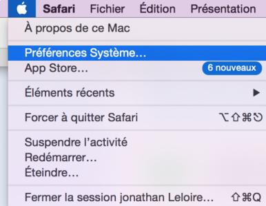 changer la resolution sur mac 0