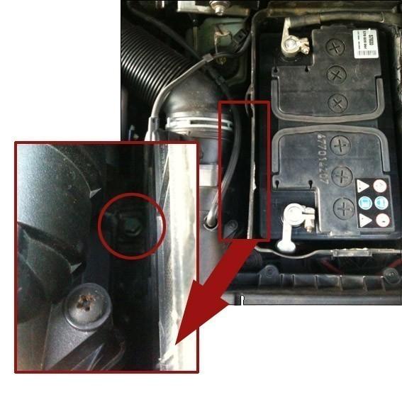 comment changer batterie sur audi a3 8p tdi 1