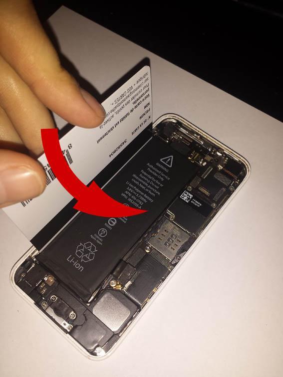 comment changer la batterie de l iphone 5c 5