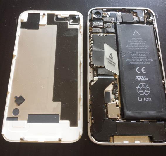 comment ouvrir un iphone 4 4