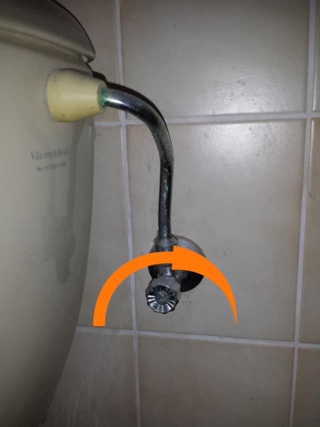 Couper l 39 arriv e d 39 eau aux toilettes - Chasse d eau qui ne se remplit plus ...