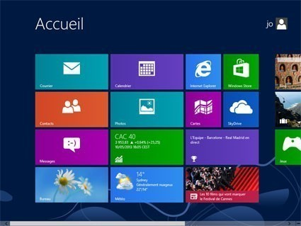 demarrer sur windows 8 0