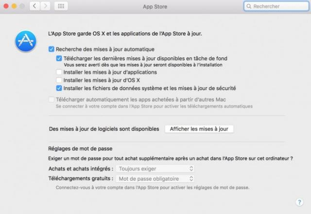 disable update mac osx 4