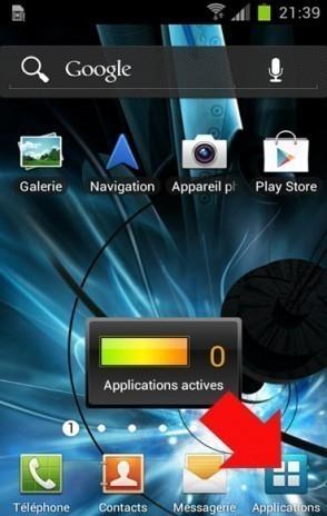 desinstaller une application android