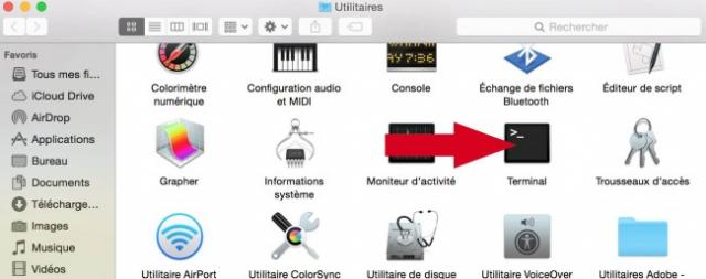 editer fichier host mac 1