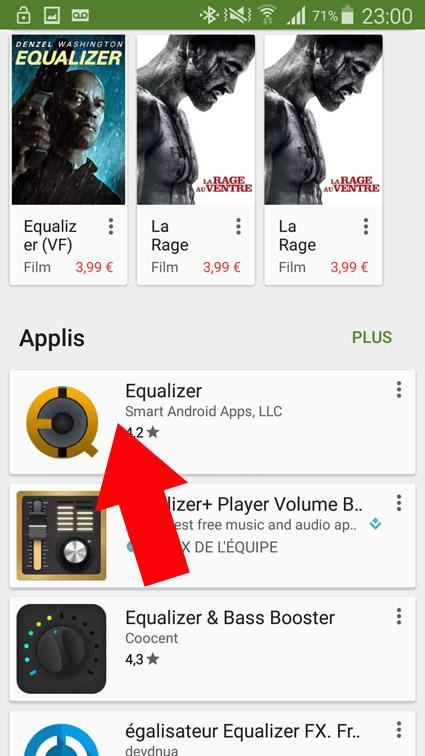 egaliseur de son android 1