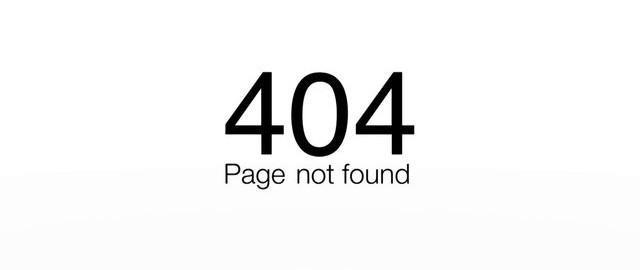 erreur 404 0