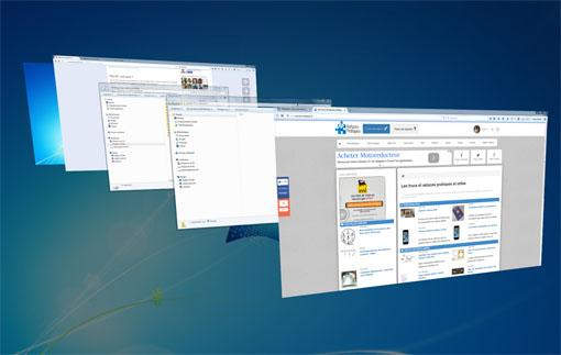 Fen tre 3d sur windows 7 astuces pratiques for Fenetre windows 7 outils