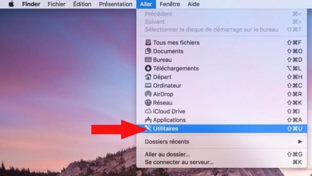 formater une cle usb sur mac 1