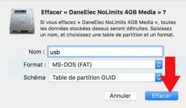 formater une cle usb sur mac 6