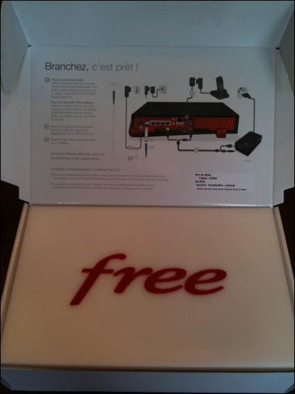 installation freebox revolution 1