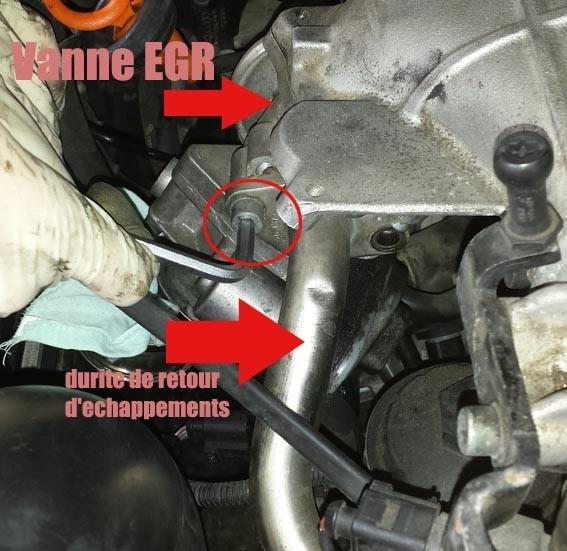 installation joint reducteur vanne egr audi a3 8p 140 cv 2