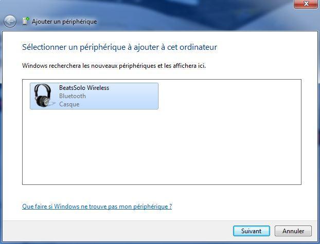 installer beats solo wireless sur windows 6