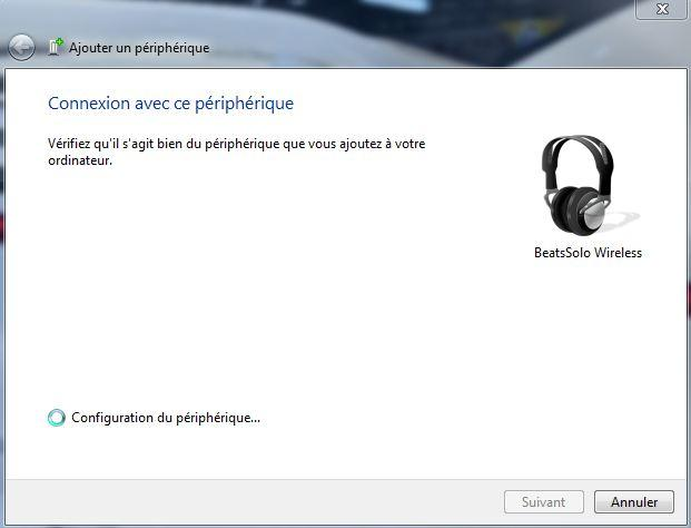 installer beats solo wireless sur windows 7