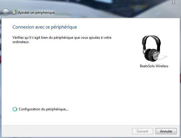 installer beats solo wireless sur windows 7