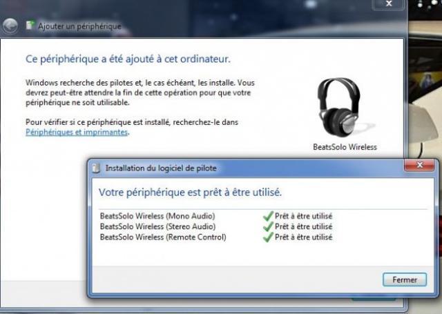 installer beats solo wireless sur windows 10