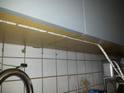 installer des leds au plan de travail cuisine 7