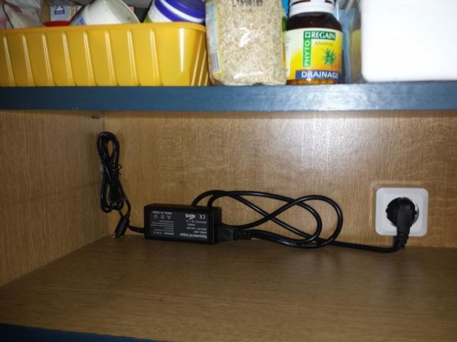 installer des leds au plan de travail cuisine 9