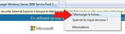installer pack sp2 vista 3