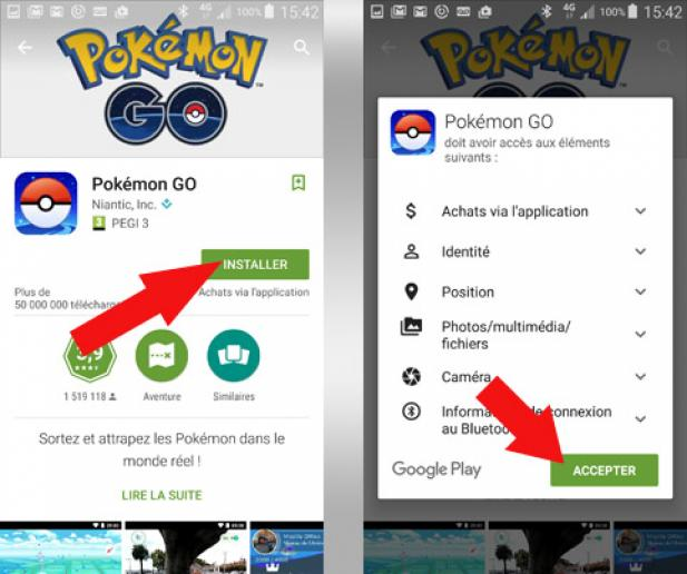 installer pokemon go android 3
