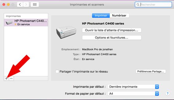 installer une imprimante sur mac 3