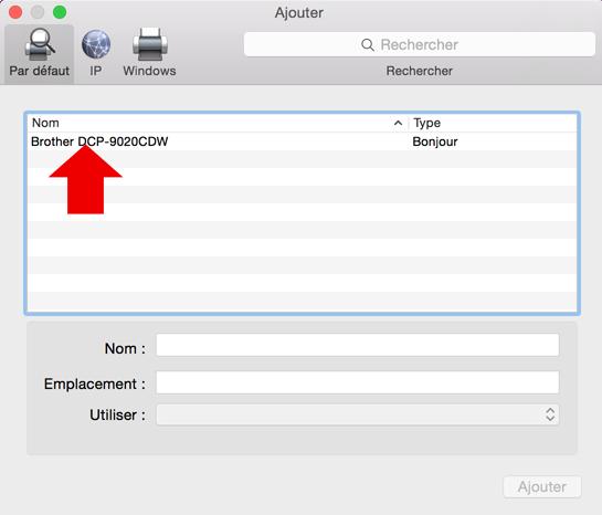 installer une imprimante sur mac 4