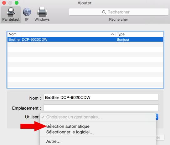 installer une imprimante sur mac 5
