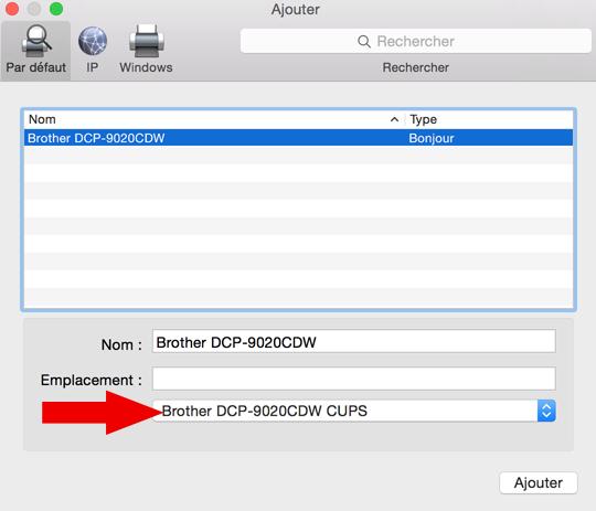 installer une imprimante sur mac 7