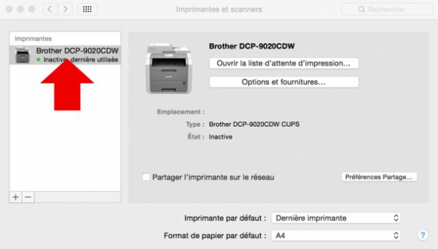 installer une imprimante sur mac 8