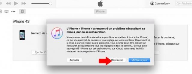 iphone redemarre en boucle pomme 2