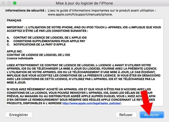 iphone redemarre en boucle pomme 5