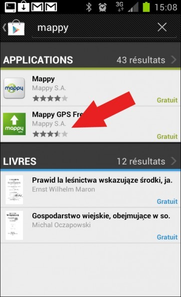 le meilleur gps gratuit pour android astuces pratiques. Black Bedroom Furniture Sets. Home Design Ideas