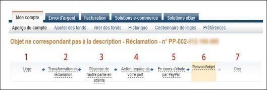 litige et reclamation paypal remboursement 8