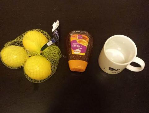 mal de gorge remede au miel citron 0