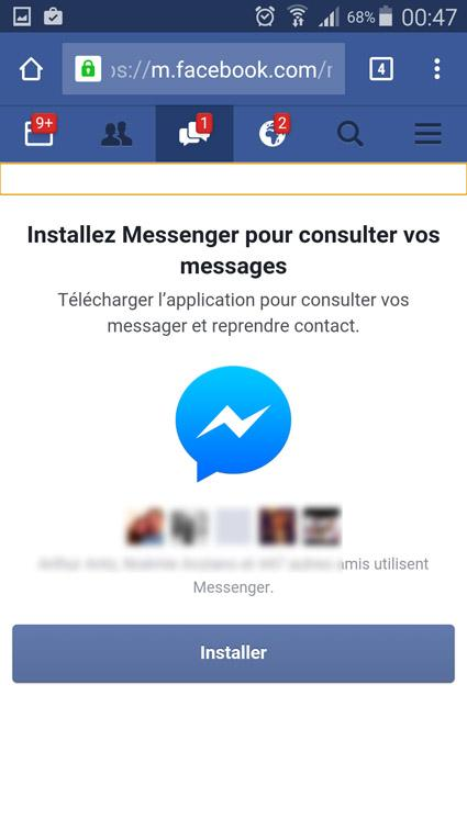 messages facebook sans messenger 2