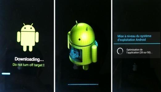 mise a jour android sur samsung 6