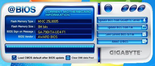 mise a jour bios gigabyte 7