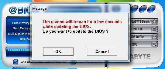 mise a jour bios gigabyte 9
