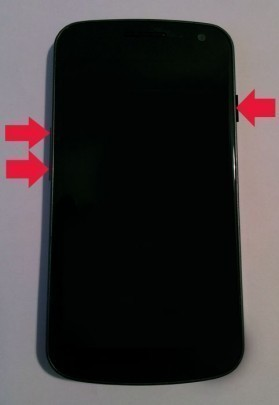 mode recovery ou bootloader du galaxy nexus 0