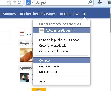 Ne plus recevoir de mail facebook
