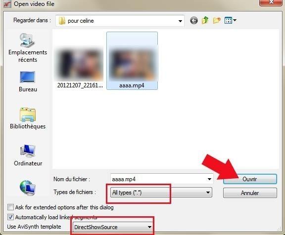 ouvrir mp4 ou mkv avec virtualdubmod 9